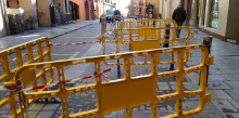 Preocupació per l'estat del paviment del carrer Major