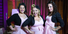 Les Swing Girls es presenten en un concert ple de 'hits'