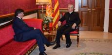 Carles Puigdemont, Joan-Enric Vives, Bisbat d'Urgell, Generalitat, C-14,  CAP La Seu, La Seu d'Urgell