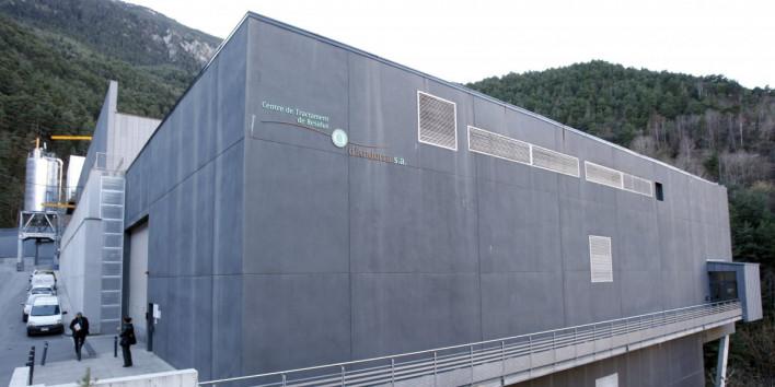 El Centre de Tractament de Residus (CTRSA), eix central de la polèmica entre l'APAPMA i el Govern.