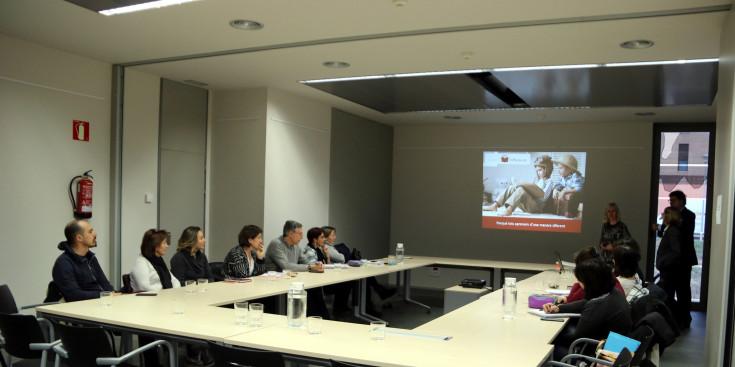 Presentació del projecte Difference per a les escoles del Pallars Jussà (fOTO: ACN)